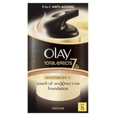 Olay Total Effects Touch Of Foundation SPF 15 37ml (Medium) -- This is an Amazon Affiliate link. Want additional info? Click on the image.
