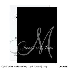 Elegant Black White