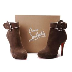 Christian Louboutin Ankle Boots Brown