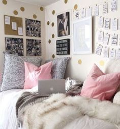 This is one of the cutest dorm room ideas for girls! #teengirlbedroomideastumblr