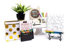 """Coffee & Creativity"" - Birthday/Thank You Gift Set"