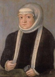 Queen Bona Sforza, domineering mother of King Sigismund II Augustus of Poland, and possible poisoner of his beloved second wife, Barbara Radziwill.