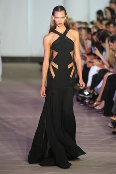 A daring cutout gown from Prabal Gurung's Spring/Summer 2012 collection.  (via Style.com)