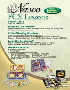 FCS Lesson 7 - Consumer Education