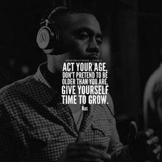 Nas speaks. #nas #hiphop #livinglegend