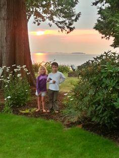 Lummi Island sunset