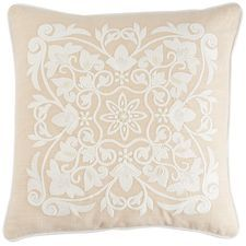 Romantic Glam Medallion Pillow