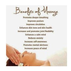 Medical Benefits of Massage Therapy!  #HealingTherapy #HealYourBody #MassageLife #SpaLife #MassageBenefits #Spa #spafit #spabenifits #massagetherapy #ilive