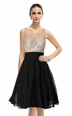 US$118.28 – Sequined Bodice Illusion Back A-line Prom Dress. www.junebridals.... Shop for cheap prom dresses, white dress, plus size dress, little black dress, evening gowns, casual dresses for sale, elegant dresses, party dresses for women, pageant dresses, dinner dresses. We have great 2017 evening gowns on sale. Buy Evening Gowns online at JuneBridals.com today!
