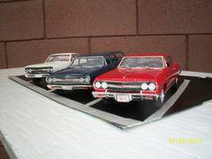 1965 Chevelle & El Camino 1/25 scale model cars.