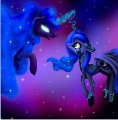Celestia And Luna, Mlp Base, Luna Moon, Nightmare Moon, Mlp Characters, Mlp Fan Art, Character Design Animation, Celestial, My Little Pony Friendship