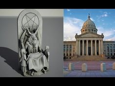 SATANIC GROUP UNVEILS 7 FT STATUE OF BAPHOMET (SATAN) FOR OKLAHOMA STATE CAPITAL (JAN 7, 2014) - YouTube