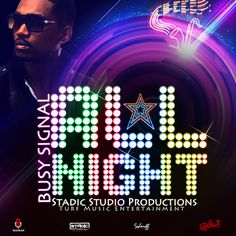 Busy Signal - All Night - [Stadic Studio Prod, Turf Music Ent. & Soundlock] - Soca 2014 Produced by Stadic Studio Productions, Turf Music Ent. Dancehall Reggae, Reggae Music, Busy Signal, Beenie Man, Soca Music, Vybz Kartel, New Music, Music Music, Music Videos