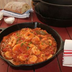 Emeril's Shrimp Creole not my Grandmothers recipe but a good base to start with.
