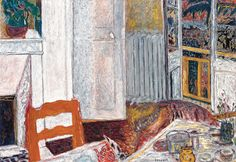 Pierre Bonnard The White Interior 1932.  Musée de Grenoble. Oil on canvas, 43-1/8 x 61-3/8 inches. Photography © Musée de Grenoble. © 2009 Artists Rights Society (ARS), New York / ADAGP, Paris
