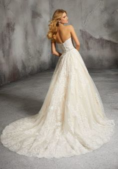 Mori Lee Bridal 8273 wedding dress available at The Castle. We are an authorized retailer for all Mori Lee Bridal dresses and every 8273 is brand new with all original tags! Chiffon Wedding Gowns, Wedding Dresses Plus Size, Elegant Wedding Dress, Perfect Wedding Dress, Bridal Wedding Dresses, Wedding Dress Styles, Wedding Bells, Dream Wedding, Wedding Ceremony