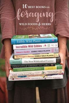 The Ten Best Books on Foraging Wild Foods + Herbs // Blog Castanea