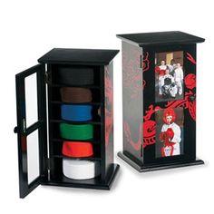 Martial Art Belt Display Cabinet - 10 Level