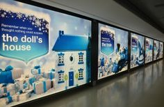 Bank of Ireland Christmas campaign lands at Dublin airport. Christmas In Ireland, Dublin Airport, Christmas Campaign, Event Management Company, Presents, Ads, Marketing, Creative, Gifts