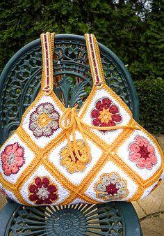 36 Ideas For Crochet Granny Square Bag Handbags African Flowers 36 Ideas For Cr. 36 Ideas For Crochet Granny Square Bag Handbags African Flowers 36 Ideas For Cr… 36 Ideas For C Crochet Purse Patterns, Crochet Motifs, Crochet Tote, Crochet Handbags, Crochet Purses, Crochet Granny, Bag Patterns, Crochet Shell Stitch, Bead Crochet