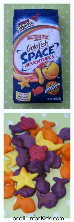 So excited about these Space Adventure Goldfish by Pepperidge Farm!
