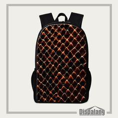 Dispalang 3D Snakeskin Print School Bags For Teenagers Mens Backpack Kids Children Animal Shoulder Bag Infantil Escolar Mochilas #Affiliate