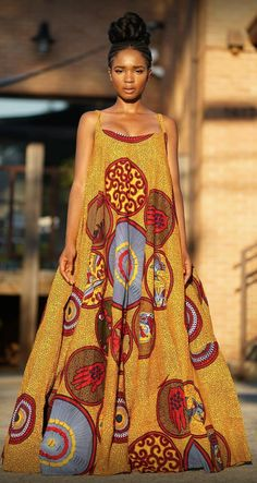 African fashion is available in a wide range of style and design. Whether it is men African fashion or women African fashion, you will notice. Ankara Maxi Dress, African Maxi Dresses, African Attire, African Wear, African Women, Modern African Dresses, African Dress Styles, African Dress Patterns, Ankara Gowns