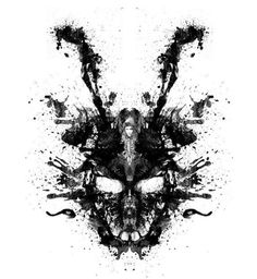 'Imaginary Inkblot- Donnie Darko Shirt' Photographic Print by spacemonkeydr Donnie Darko Tattoo, Donnie Darko Movie, Donnie Darko Frank, Donnie Darko Rabbit, Film Pictures, Illustration, Sketches, Framed Prints, Drawings