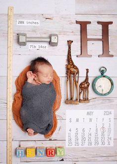 Birth Announcement Newborn Photo Session Inspiration Name Date Weight Ruler Clock Time Unique Custom Kirra Photography Foto Newborn, Newborn Shoot, Newborn Pictures, Baby Pictures, Foto Baby, Baby Birth, Everything Baby, Baby Time, Future Baby
