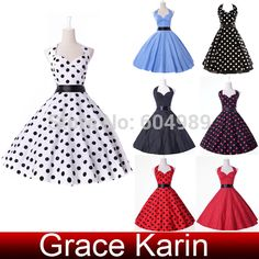 Cheap dress up girls dresses, Buy Quality dress up costumes kids directly from China dress shirt no collar Suppliers:  GK Stock Cotton Polka Dots Ball Cocktail Evening Prom Party Dress 4 Size S~XL  Please check the measure