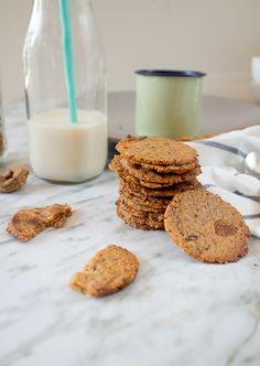 Almond fig cookies, vegan, gluten and sugar free