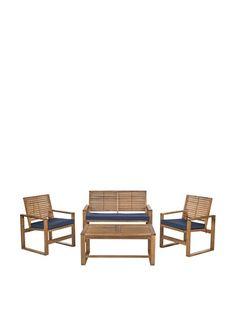 Safavieh 4-Piece Ozark Furniture Set