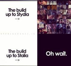 YES. #StydiaHasHistory #Stydia forever!