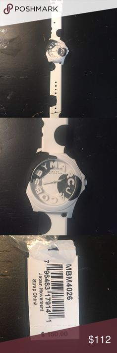 *Marc by Marc Jacobs* Marc by Marc super cute watch white with black polka dots. Brand new! Marc by Marc Jacobs Jewelry