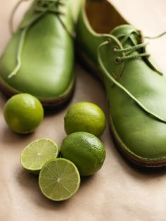 Lime Green Leather Shoes .... R.E.D Portfolio - NEWS ....