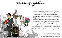 Convite de casamento - Izteliane e Vinícius