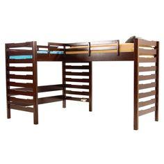 double loft bunk bed plans