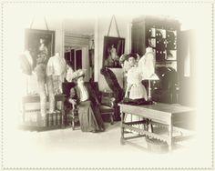 Anciennes maison de modes.