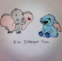 I'm different too!