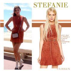 Stefanie Giesinger in einem braunen Kleid aus weichem Wildleder Street Style, Celebrities, Dresses, Fashion, Brown Dress, Suede Fabric, Get Tan, Gowns, Vestidos