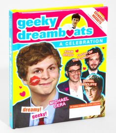 Got a Valentine? Find one in the Geeky Dreamboats book available at fredflare $13.95