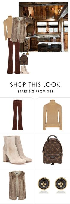 """""""Unbenannt #1230"""" by lila77 ❤ liked on Polyvore featuring rag & bone, JoosTricot, Gianvito Rossi, Louis Vuitton, Mela Loves London, Tory Burch and Burberry"""