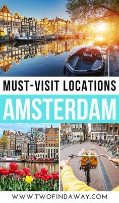 Amsterdam is one of the most amazing cities in Europe. 5 Places You Must Visit in Amsterdam During Your Netherlands Trip I What Not To Miss in Amsterdam, The Netherlands I Things to do in Amsterdam I Amsterdam Itinerary I What to Visit in Amsterdam I Amsterdam Attractions I Alternative Things to Do in Amsterdam I How to Visit Amsterdam I Tips for Visiting Amsterdam I Tips and Tricks for Amsterdam Travelers I Best Things to See in Amsterdam I Hidden Gems in #amsterdam #thenetherland #holland European Travel Tips, Europe Travel Guide, Visit Amsterdam, Beautiful Places To Travel, Travel Photos, Travel Inspiration, Travel Photography, Places To Visit, Travel Pictures