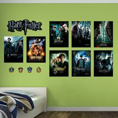 Found it at Wayfair - Harry Potter Movie Poster Peel and Stick Wall Decal