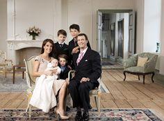 Prince Joachim, Princess Marie, Princess Athena, Prince Nikolai, Prince Felix, and Prince Henrik.