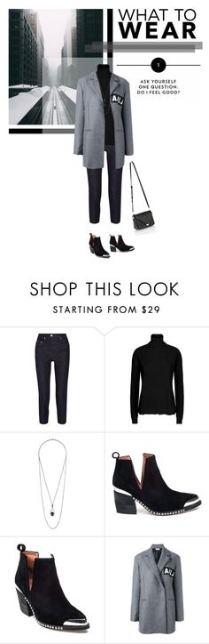 """#151"" by kgarden ❤ liked on Polyvore featuring Acne Studios, Valentino, Topshop, Jeffrey Campbell, Au Jour Le Jour and Alexander Wang"