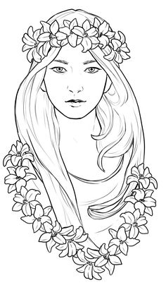 Face Coloring Page for Adults - Face Coloring Page for Adults , Adult Coloring Book Printable Coloring Pages by Coloring Pages To Print, Coloring Book Pages, Printable Coloring Pages, Colorful Drawings, Art Drawings, Free Adult Coloring, Line Art, Sketches, Illustration