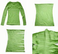 DIY-Anleitung:  Textilgarn Herstellung
