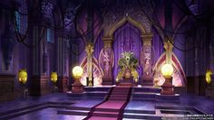 Throne Room Characters & Art Trillion: God of Destruction Throne room Fantasy concept art Fantasy art landscapes