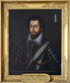 André Baptiste de Brancas, Seigneur de Villars, Amiral de France (ob.1595).